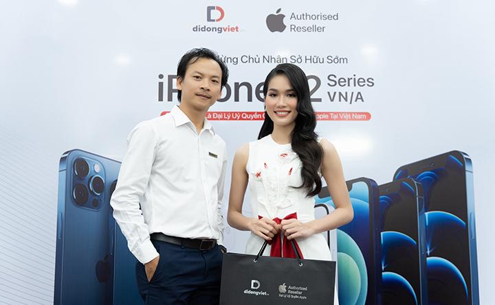 Á hậu Phương Anh chia sẻ địa chỉ sắm iPhone 12 Pro Max