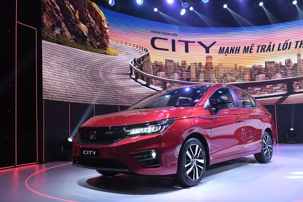 Honda City 2021 ra mắt với 3 phiên bản, giá từ 529 triệu đồng