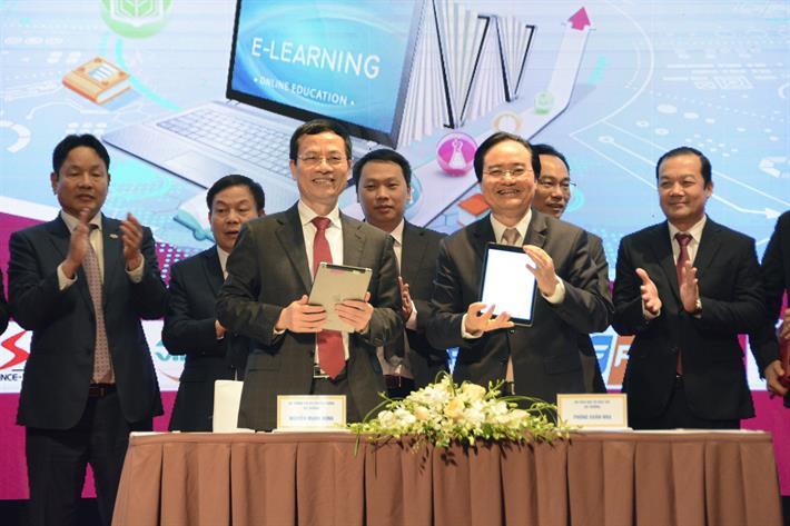 Viettel và Bộ GD-ĐT hợp tác thực hiện chuyển đổi số ngành giáo dục và đào tạo