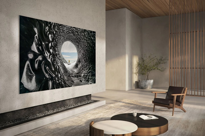 TV MicroLED 110 inch mới của Samsung ra mắt, hoàn toàn không có viền