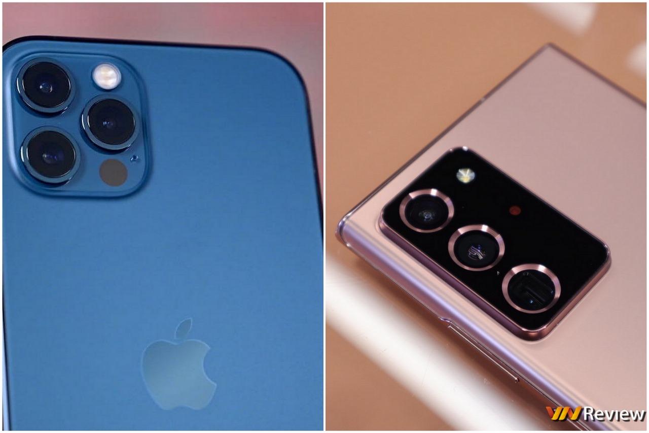 """Đọ camera iPhone 12 Pro và Galaxy Note 20 Ultra: """"kẻ thiếu lạng, người thừa cân"""""""