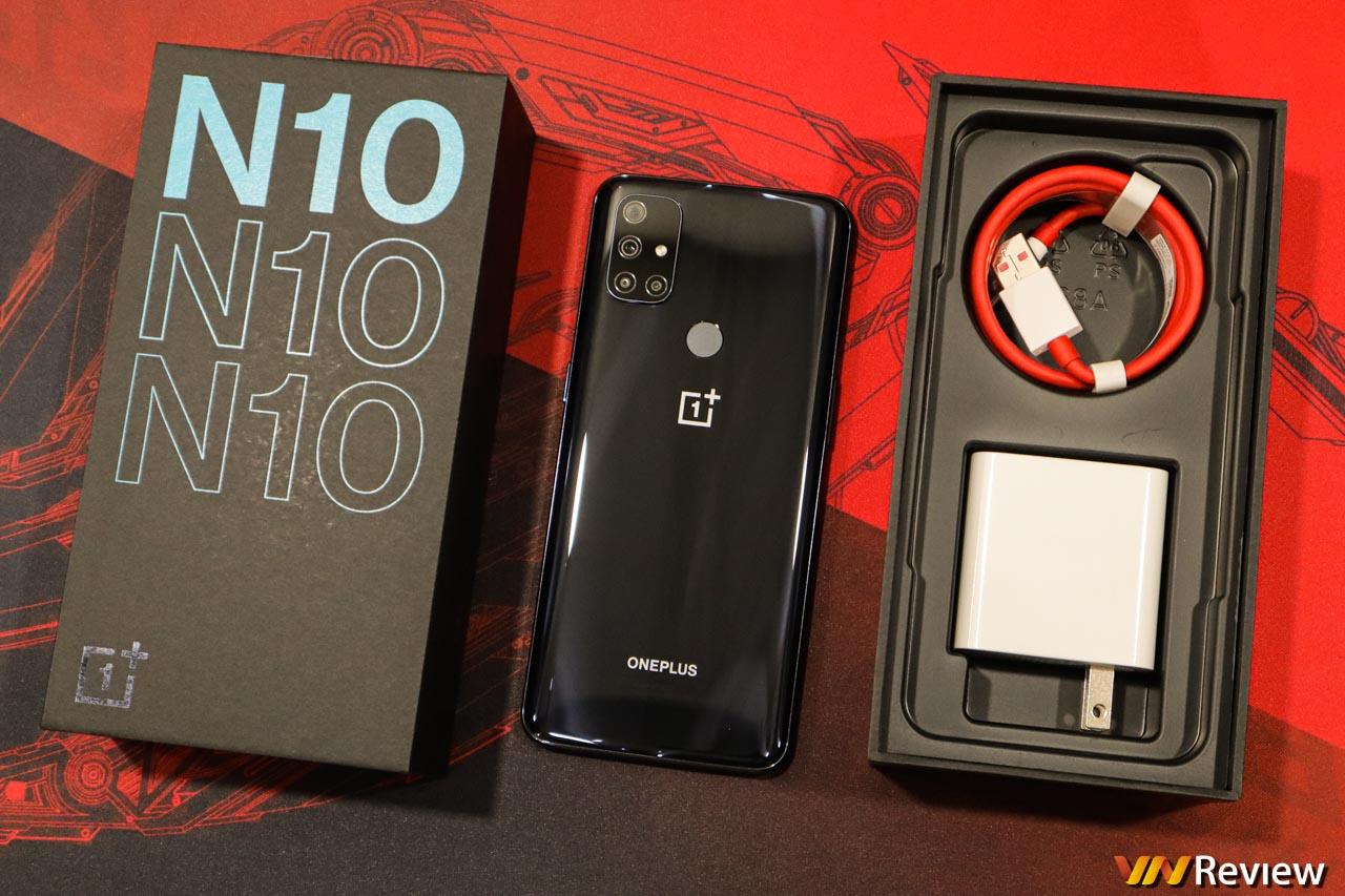 Đánh giá OnePlus Nord N10