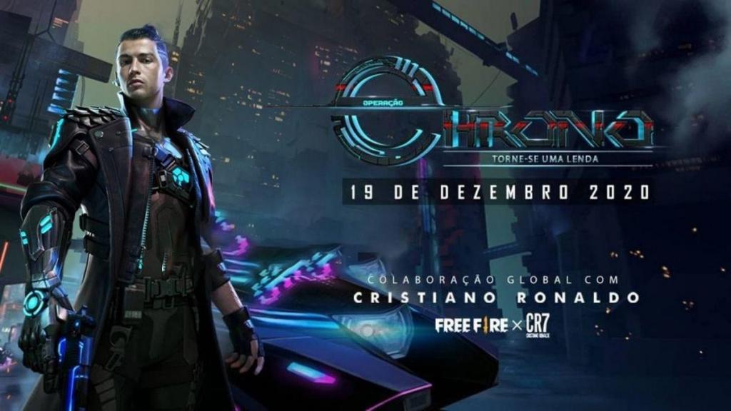 Game sinh tồn Free Fire sắp xuất hiện nhân vật Chrono lấy cảm hứng từ CR7