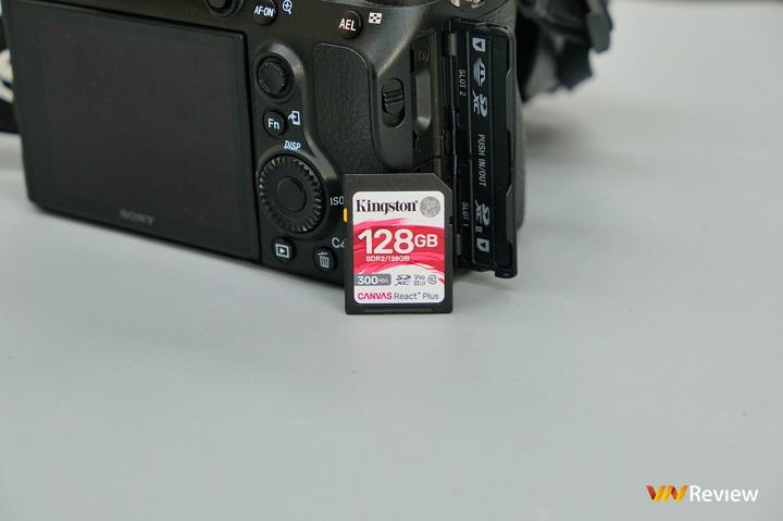 Đánh giá Kingston Canvas React Plus SD 128GB: Mua máy ảnh xịn rồi thì nên sắm thẻ nhớ này