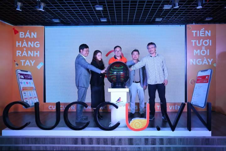 Nexttech ra mắt ứng dụng Cuccu.vn giúp người bán hàng online không cần bỏ vốn