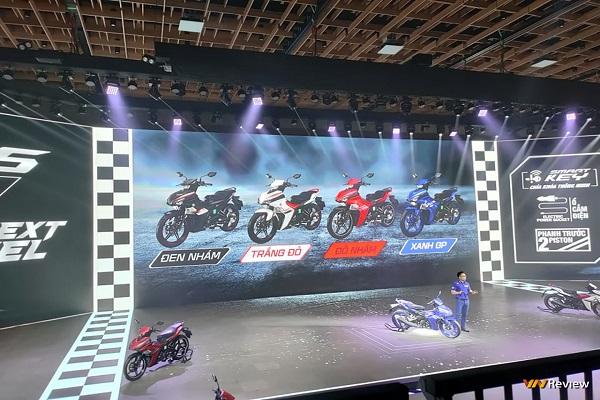 Yamaha Exciter mới vừa ra mắt tại Việt Nam, 3 phiên bản, giá từ 47 triệu đồng