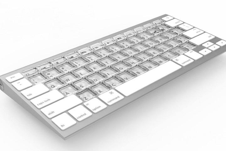 Apple đăng ký bằng sáng chế bàn phím Mac với màn hình nhỏ trên mỗi phím có thể tuỳ biến