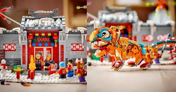 LEGO phát hành ba bộ xếp hình mới để chào mừng Tết Nguyên đán
