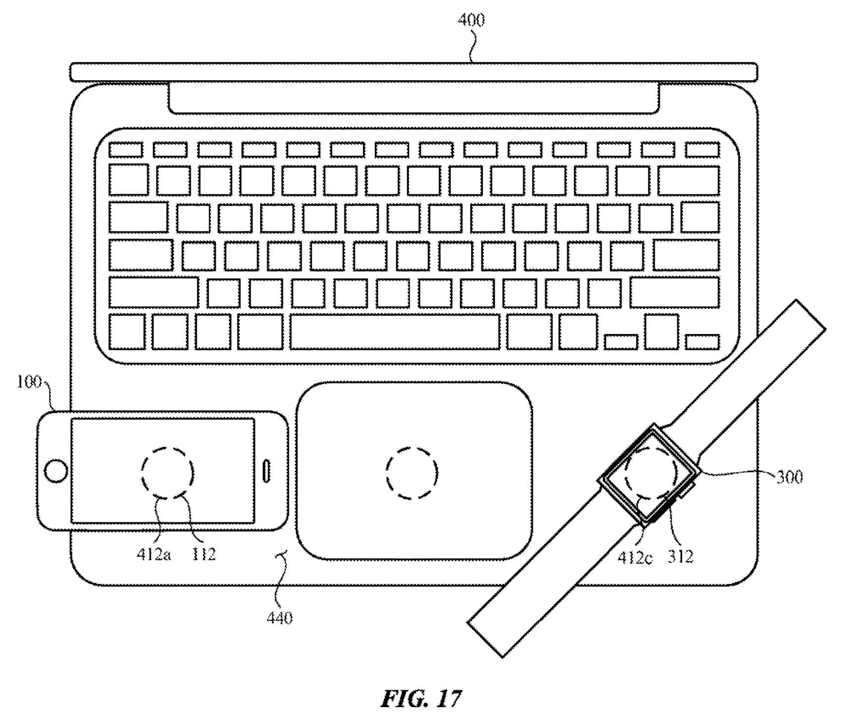 Apple đăng ký bằng sáng chế gợi ý sử dụng MacBook để sạc không dây cho iPhone & Apple Watch