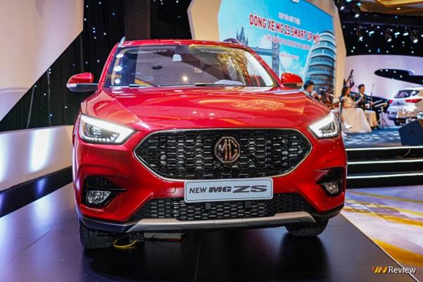 MG ZS phiên bản nâng cấp ra mắt thị trường Việt Nam, giá từ 569 triệu đồng