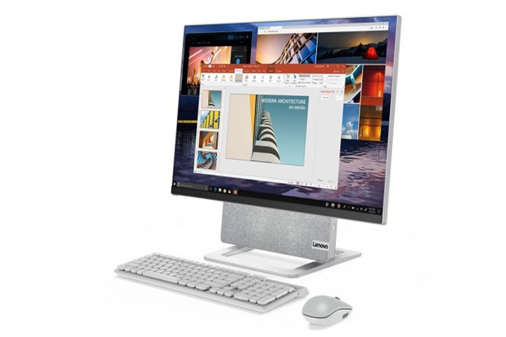 """Lenovo ra mắt thiết bị """"tất cả trong một"""" Yoga AIO 7 với màn hình xoay"""