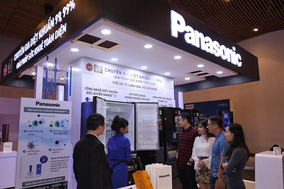 Tủ lạnh Panasonic nhận giải công nghệ diệt khuẩn hiệu quả