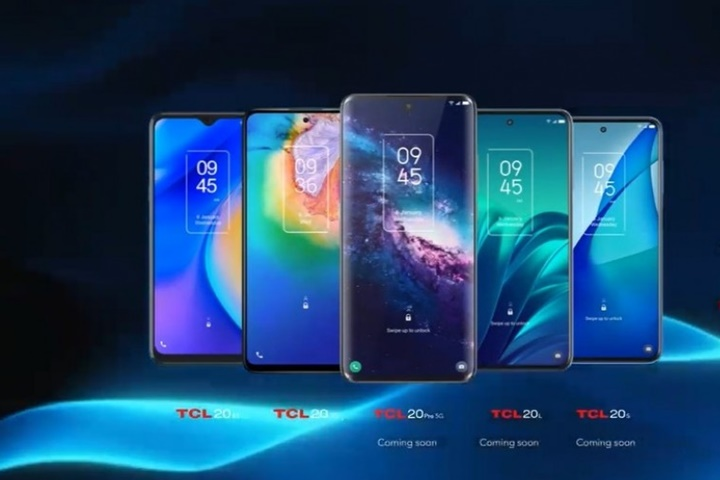 Cặp smartphone Trung Quốc TCL mới tập trung vào giải trí
