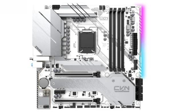 Colorful ra mắt bo mạch chủ iGame Z590 Vulcan W và CVN B560 Gaming Frozen V20 cho game thủ yêu màu trắng