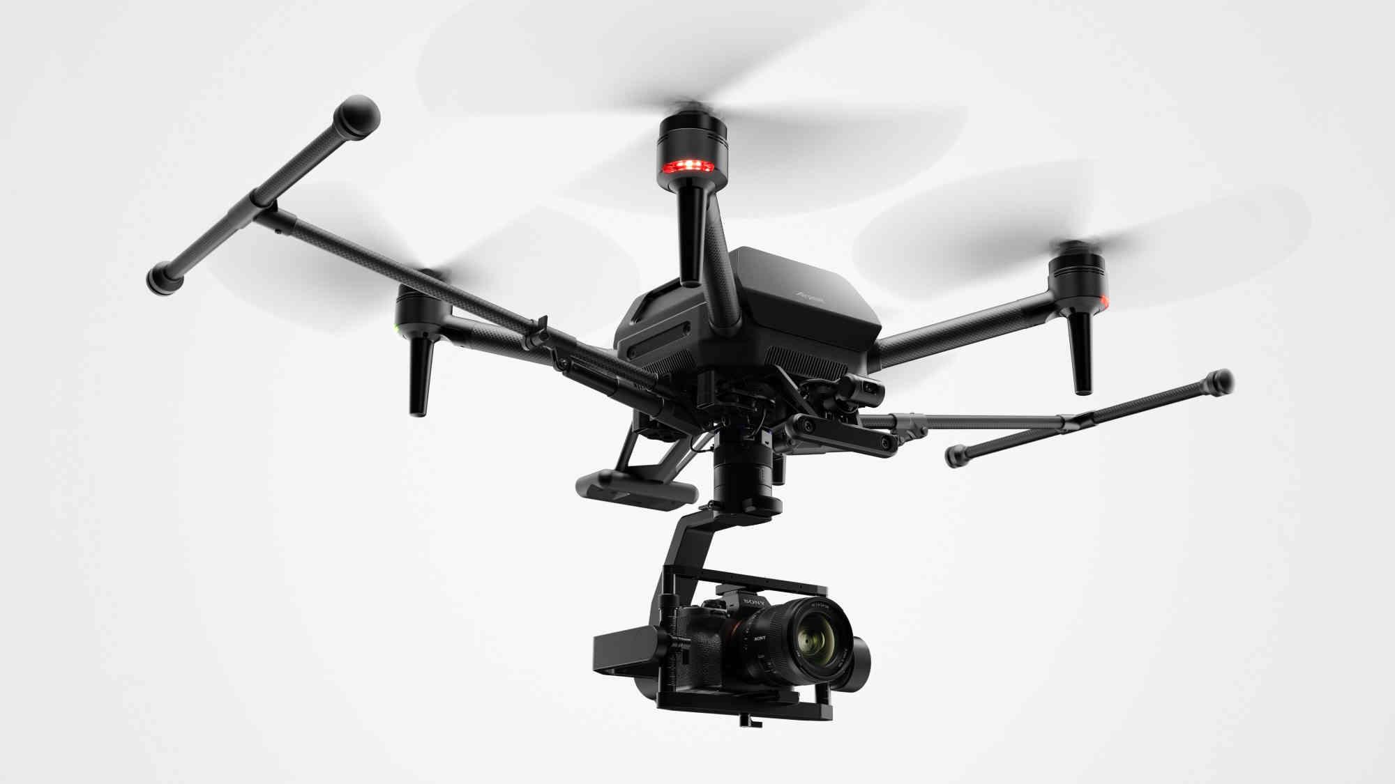 Sony hé lộ thiết kế drone Airpeak, phục vụ các nhà quay phim và nhiếp ảnh gia