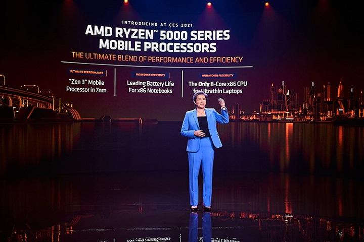 """AMD trình làng dòng CPU Ryzen 5000 dành cho các thiết bị di động, tranh thủ """"cà khịa"""" Intel"""