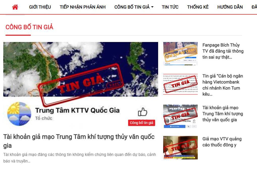 Việt Nam thành lập trung tâm xử lý tin giả, dán nhãn tin giả