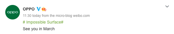 Oppo xác nhận sẽ tổ chức một sự kiện ra mắt vào tháng 3, có thể trình làng dòng flagship Find X3
