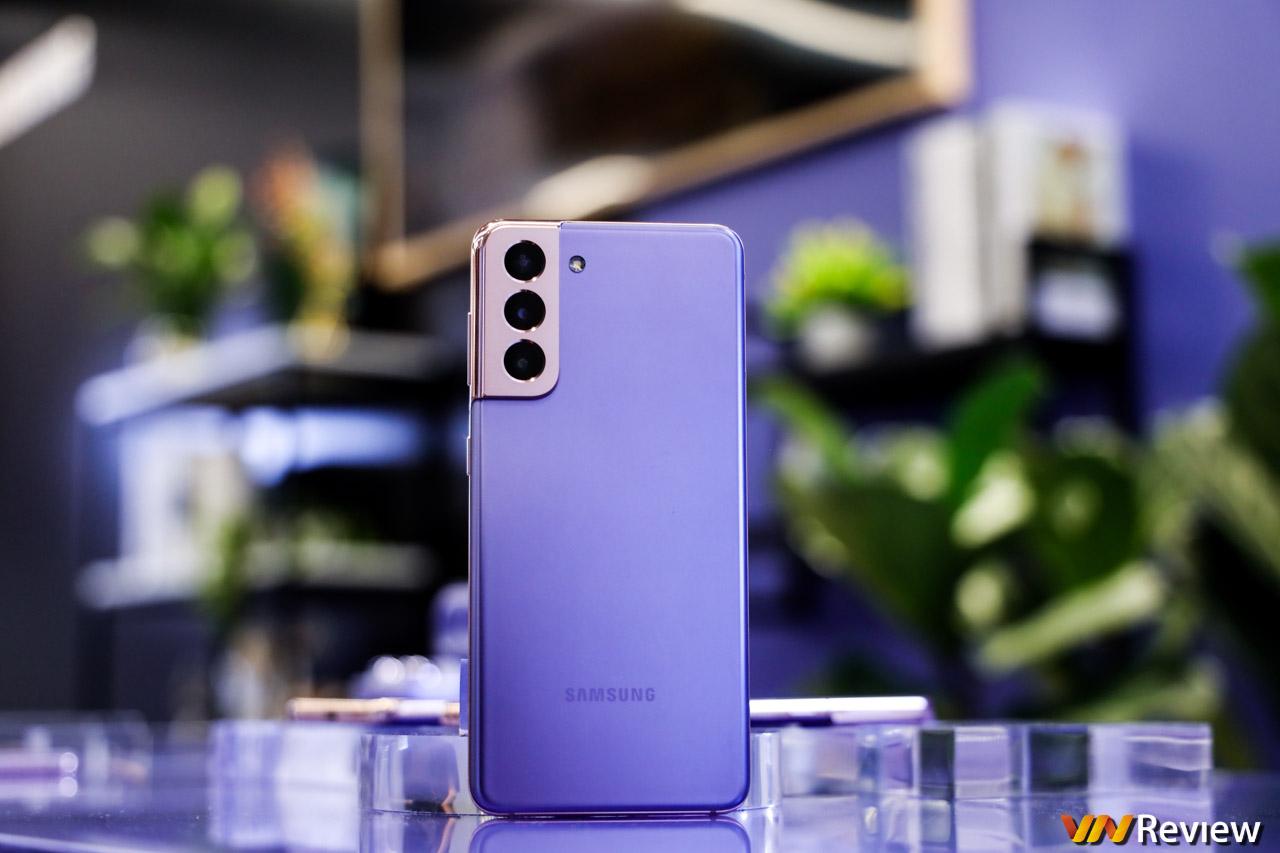 Trên tay Galaxy S21: màu tím hoa sim lạ mắt, không hỗ trợ S Pen