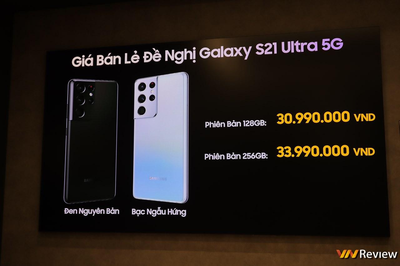 Chạy theo Apple, Galaxy 21 tại Việt Nam không còn củ sạc và tai nghe đi kèm