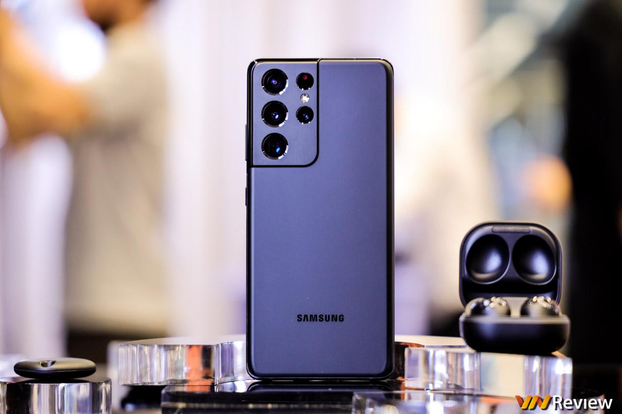Đánh giá nhanh Galaxy S21 Ultra ngay tại Việt Nam: S Pen ngon như Note, lần đầu tiên có 2 ống tele
