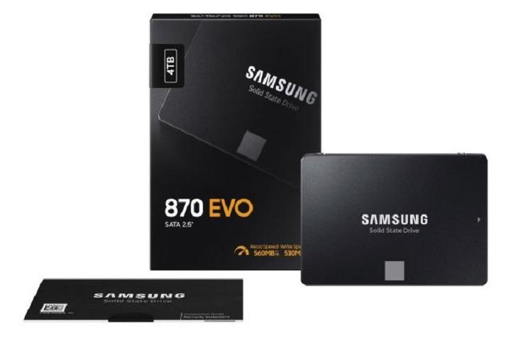 Samsung ra mắt 870 Evo, cải thiện hiệu năng cho dòng SSD thấp cấp