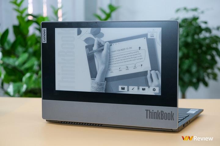 Đánh giá laptop Lenovo ThinkBook Plus: Nổi bật với màn hình phụ E-Ink độc đáo