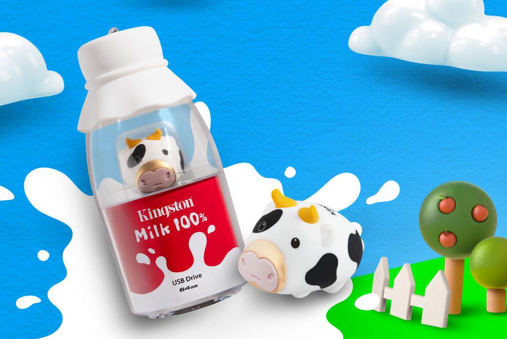 Kingston ra mắt USB bò sữa Mini Cow phiên bản giới hạn mừng năm mới Tân Sửu