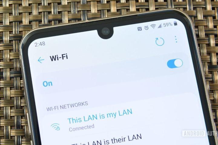 Những phiên bản Android trong tương lai sẽ có thể chia sẻ mật khẩu Wi-Fi thông qua Nearby Share