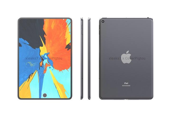 iPad Mini 6 sẽ có cảm biến vân tay Touch ID trong màn hình cùng camera đục lỗ