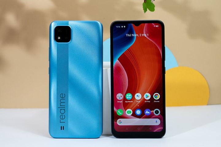 Realme C20 mở bán ở Việt Nam: màn to, pin 5000 mAh và giá 2,69 triệu đồng