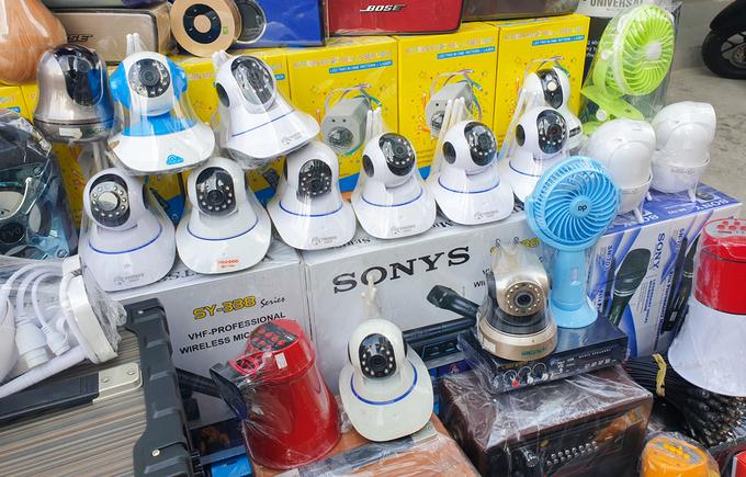 Camera IP giá rẻ bán vỉa hè