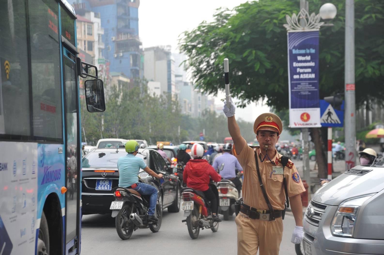 Lịch cấm đường phục vụ Đại hội Đảng lần thứ XIII tại Hà Nội