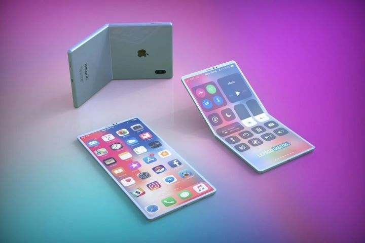 Lộ diện hệ thống camera của chiếc iPhone gập trong một bằng sáng chế mới của Apple