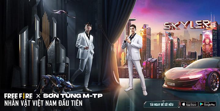 Sơn Tùng M-TP là nghệ sĩ Việt Nam đầu tiên có nhân vật trong game Free Fire