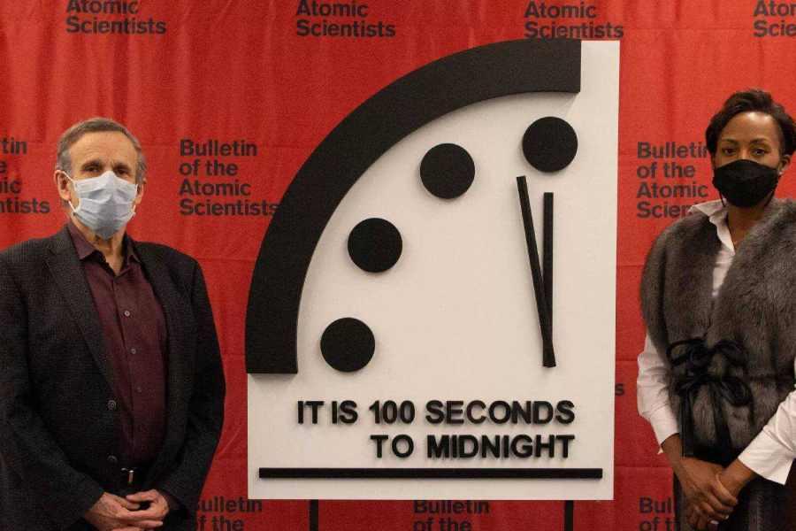 Đồng hồ ngày tận thế đứng ở mức '100 giây đến nửa đêm'