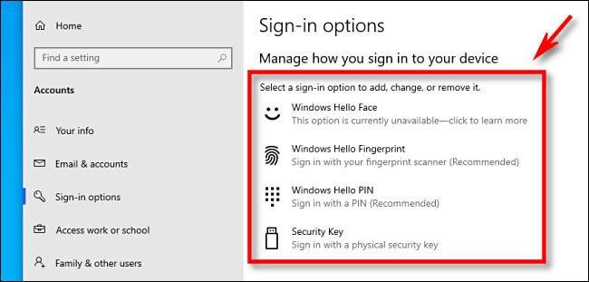 Đăng nhập Windows Hello trên Windows 10 là gì?
