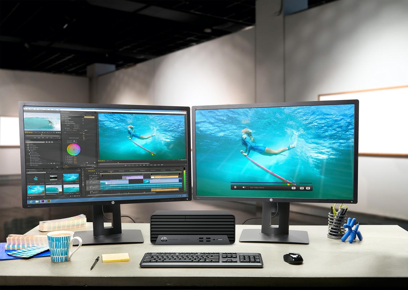 HP Prodesk 400 G7 SFF: máy tính đồng bộ nhỏ gọn hiệu năng cao