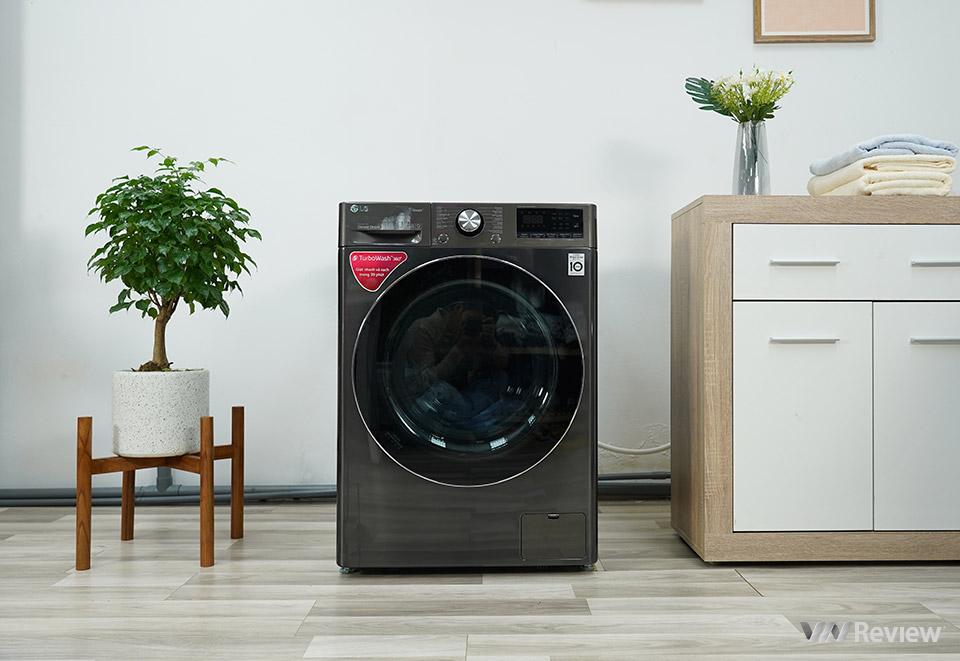 Đánh giá máy giặt lồng ngang LG AI DD 10.5kg: đáng giá từng đồng bỏ ra