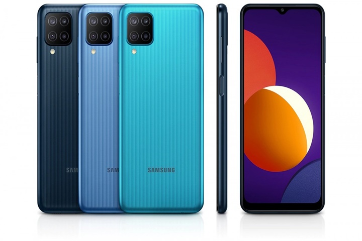 Samsung trình làng Galaxy M12 với pin 6.000 mAh, camera chính 48 MP
