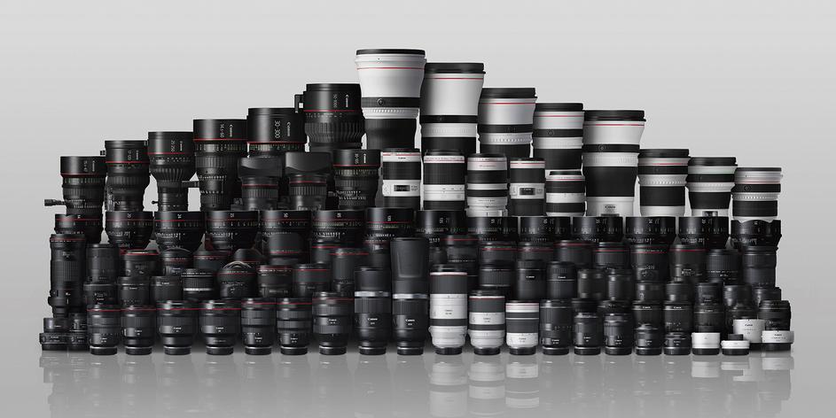 Canon đã xuất xưởng được 150 triệu ống kính có thể tháo rời
