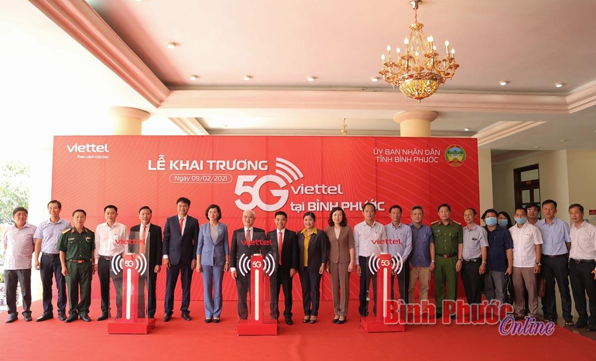 Mạng 5G Viettel đã có mặt tại tỉnh Bình Phước