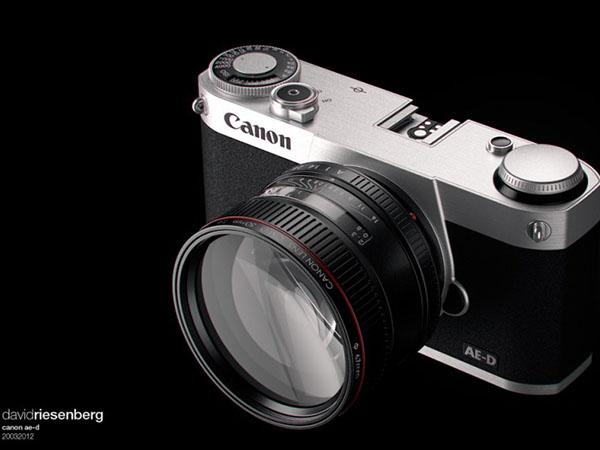 Canon ra máy ảnh không gương lật trong tháng 7?