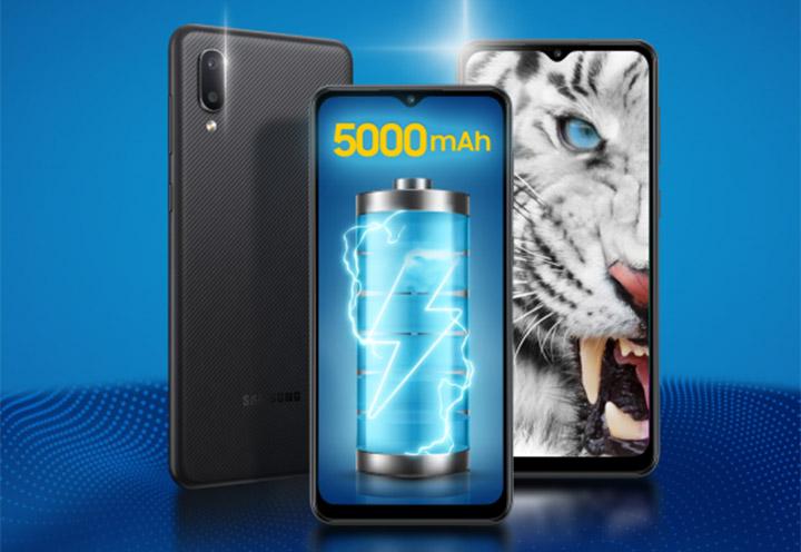 Samsung ra mắt Galaxy M02: smartphone màn to, pin trâu giá 2,39 triệu đồng