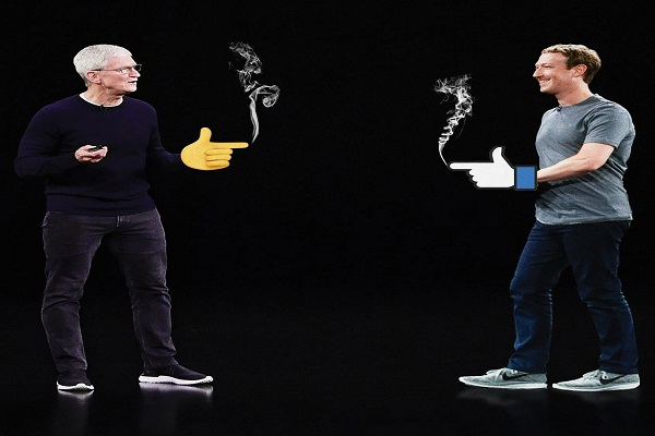 """Bí ẩn bên trong mối thù """"dai dẳng"""" của Facebook và Apple"""
