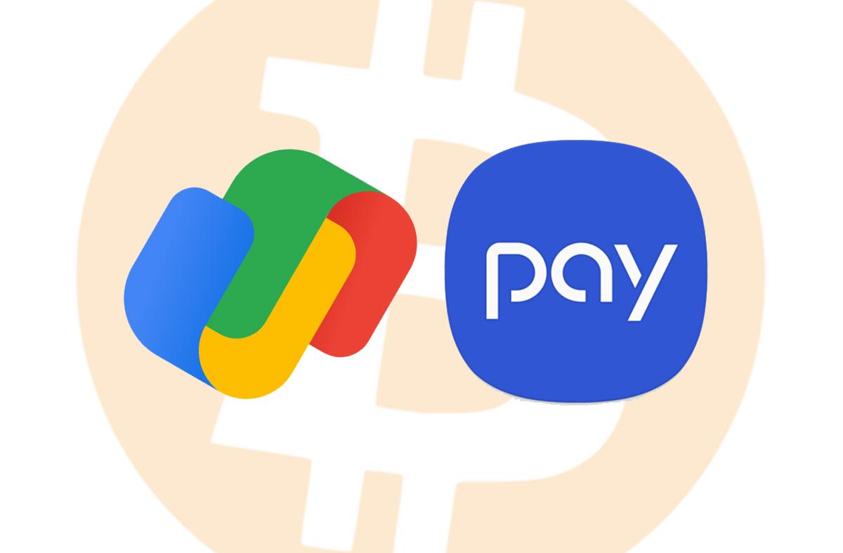 Google Pay và Samsung Pay sẽ sớm chấp nhận Bitcoin cùng nhiều loại tiền điện tử khác