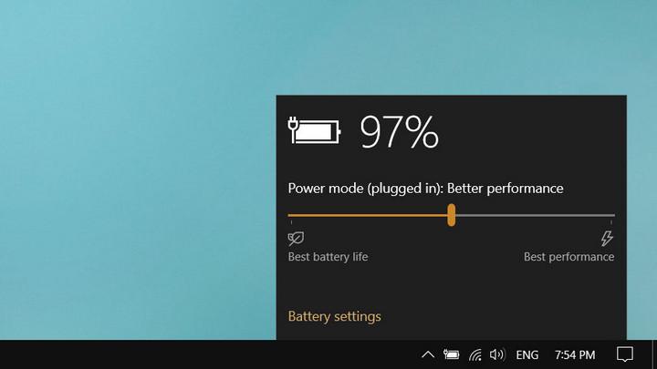 Windows 10 sắp có menu giám sát pin mới trực quan hơn, hiệu quả hơn
