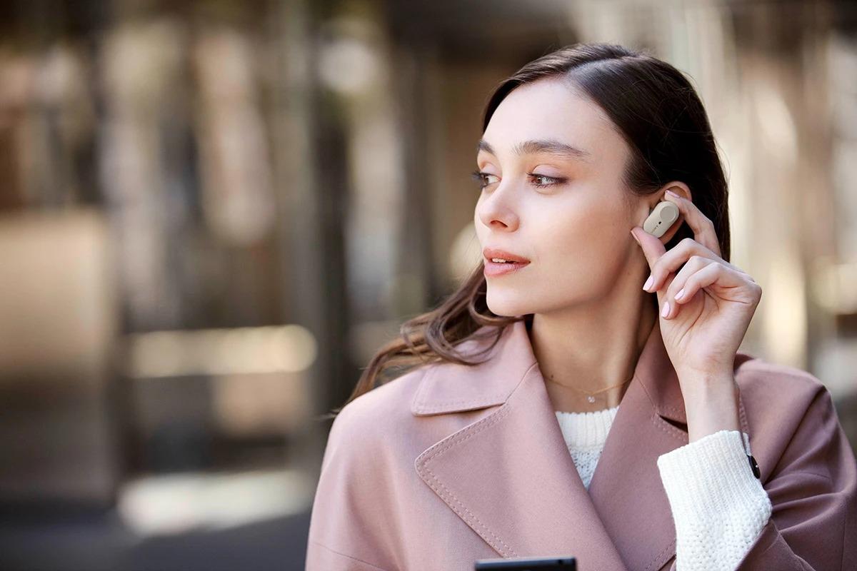 Rò rỉ hình ảnh tai nghe Sony WF-1000XM4, gợi ý một sự thay đổi về thiết kế