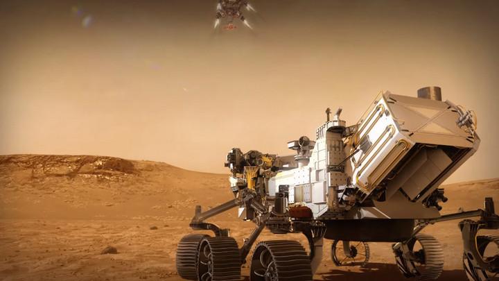 NASA chia sẻ video màn hạ cánh xuống bề mặt Sao Hỏa của tàu thăm dò Perseverance