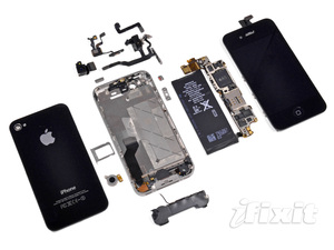 """""""Mổ bụng"""" iPhone 4S: RAM 512MB, chip A5 do Samsung sản xuất"""
